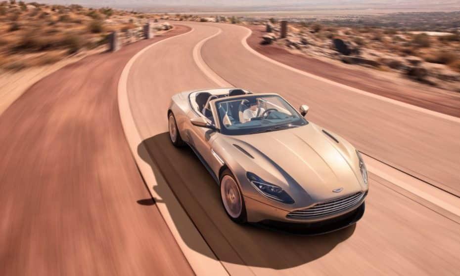 Aston Martin DB11 Volante: Máxima elegancia al aire libre y corazón V8 biturbo AMG