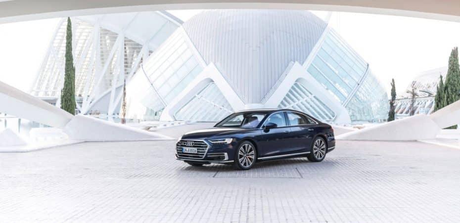 Más imágenes del nuevo Audi A8: Ahora luciendo tipo por Valencia