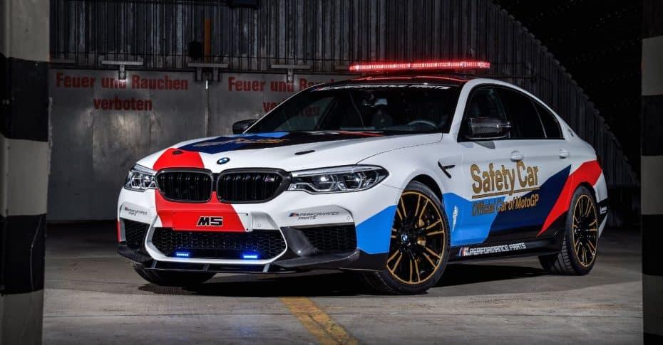 Así es el nuevo Safety Car de MotoGP: El BMW M5 se pone guapo y se estrenará en Valencia