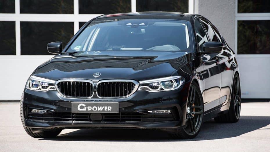 Para los más inconformistas: El BMW Serie 5 recibe hasta 453 CV y 860 Nm de par cortesía de G-Power