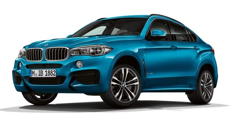 El nuevo BMW X6 M Sport Edition llega con suculento equipamiento deportivo: Estos son los precios