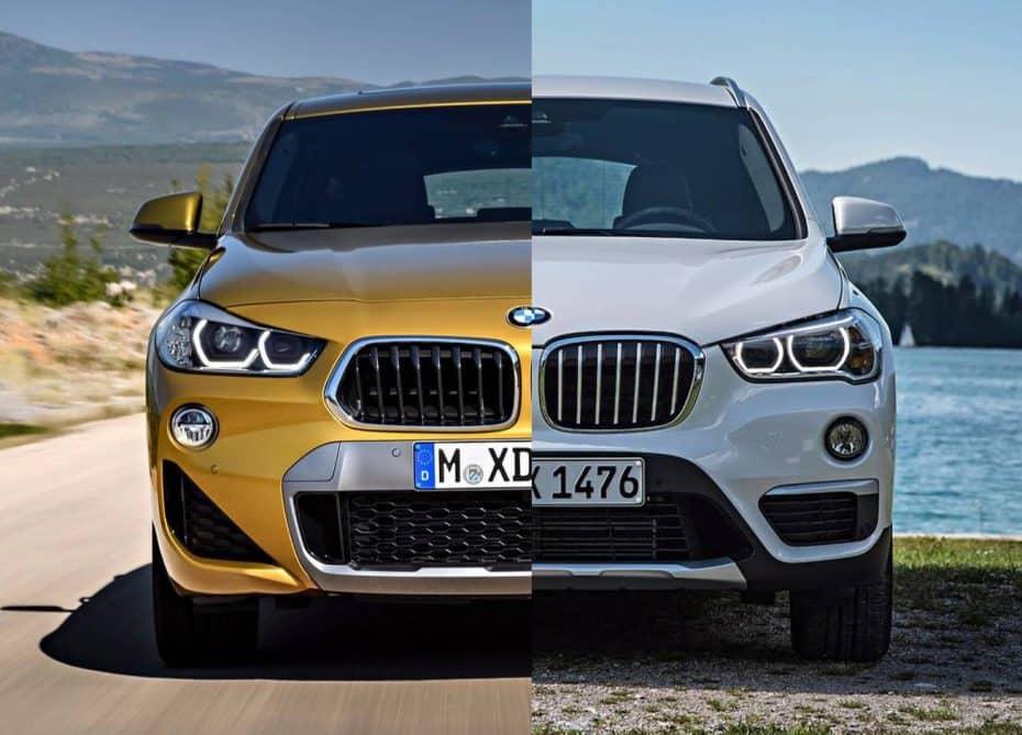 Comparativa Visual: BMW X2 VS BMW X1 ¿Hasta qué punto tiene sentido el nuevo SUV alemán?