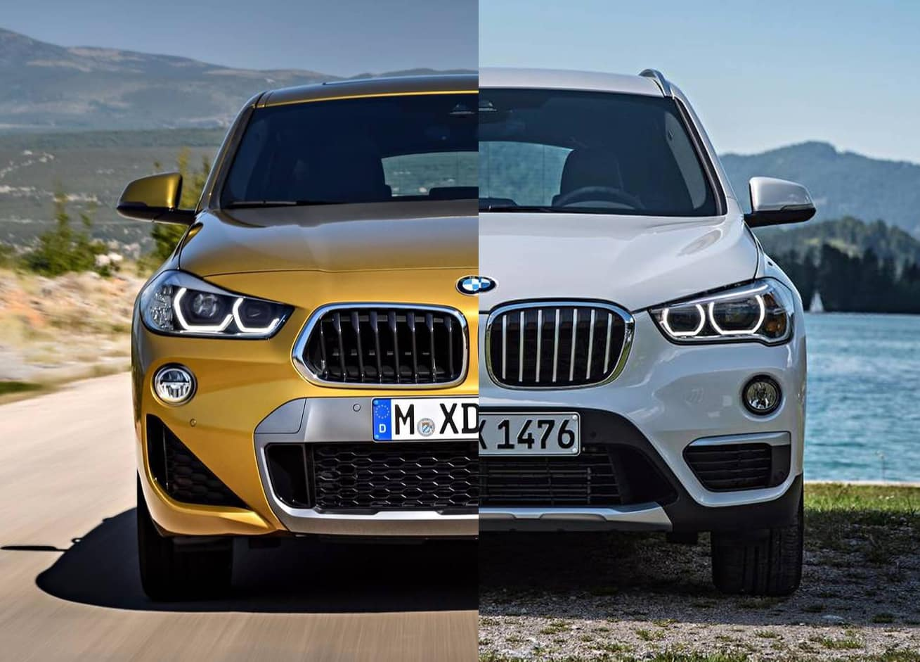 comparativa visual bmw x2 vs bmw x1 hasta qu punto tiene sentido el nuevo suv alem n. Black Bedroom Furniture Sets. Home Design Ideas