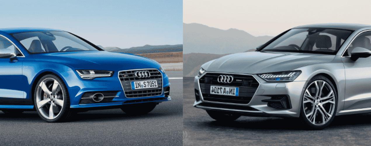 Comparación visual: Juzga tú mismo cuánto ha cambiado el nuevo Audi A7 Sportback