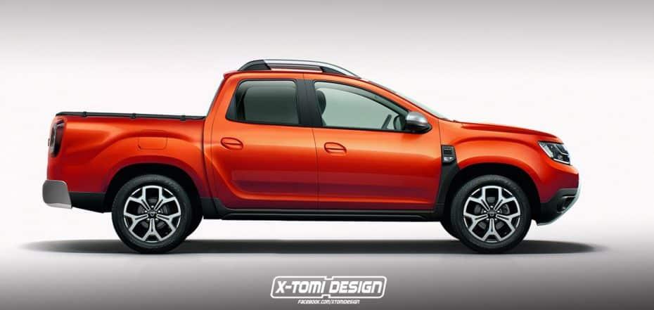 ¿Quieres un pick-up asequible y atractivo? Este render del Dacia Duster haría tus sueños realidad…