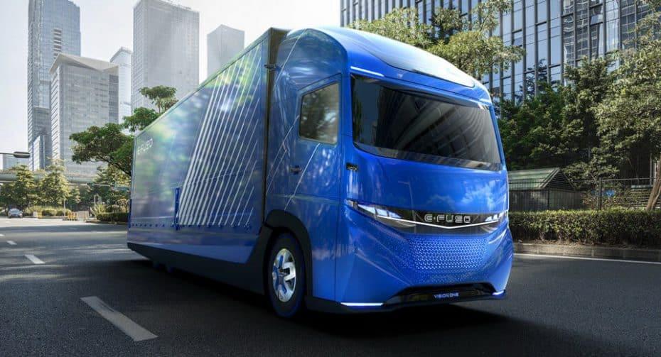 E-Fuso Vision One: Así es el camión eléctrico del Grupo Daimler con hasta 350 km de autonomía