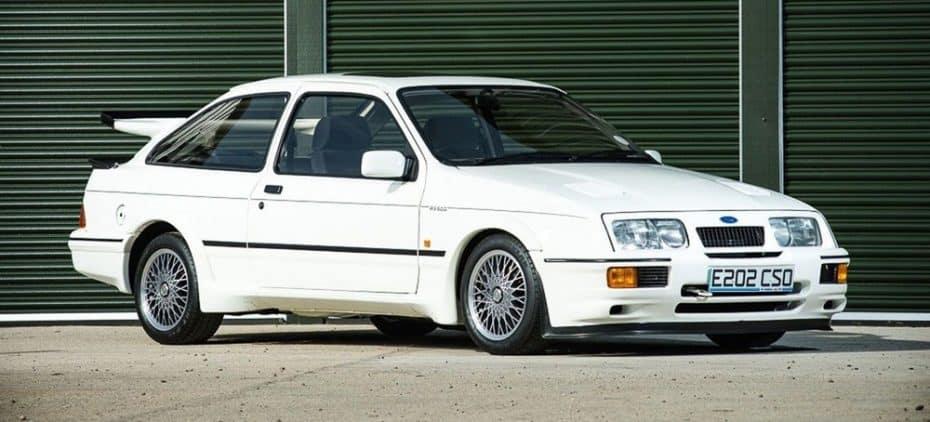 Este Ford Sierra Cosworth RS500 busca nuevo hogar ¡Pero cuesta más que un Porsche 911 a estrenar!