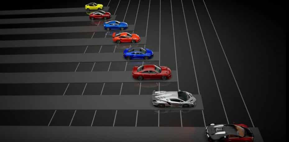 Aquí tienes el listado de los coches disponibles para Gran Turismo Sport: ¿Alguna sugerencia?