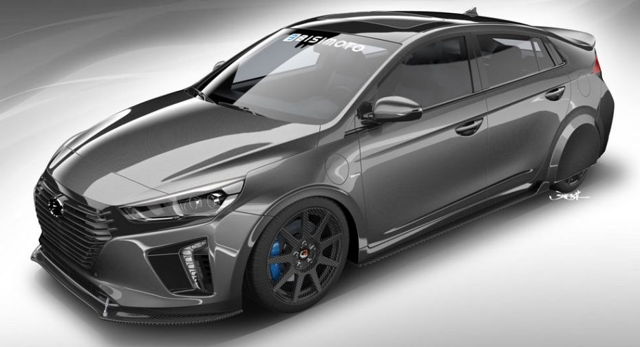 Te presentamos el Hyundai HyperEconiq Ioniq que será presentado en el SEMA 2017 ¡Y es bestial!