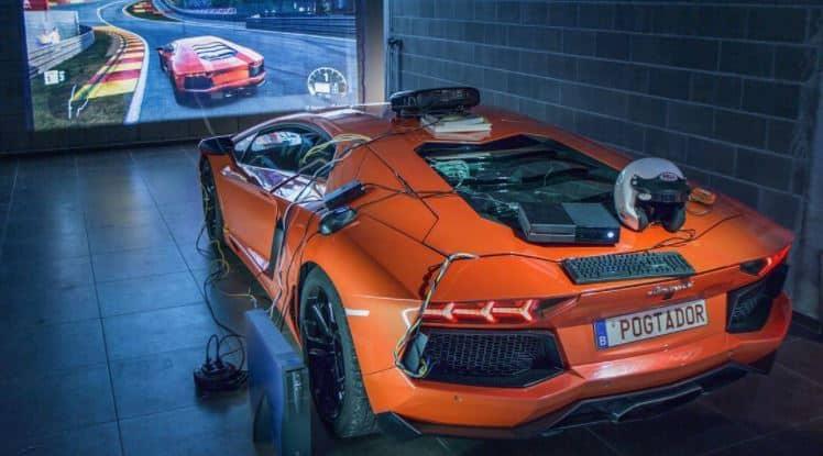 Este Lamborghini Aventador es el simulador más caro del mundo ¡Pero soñarás con tenerlo en tu garaje!
