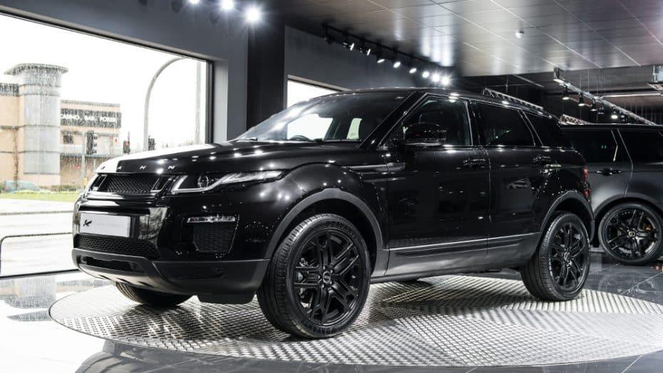 Así es el Land Rover Evoque 'Ground Effect Edition' de Khan Design: Lujo y exclusividad en el «lado oscuro»