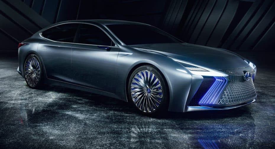 Lexus LS+ Concept: Todo un escaparate tecnológico de sistemas autónomos que veremos en 2020