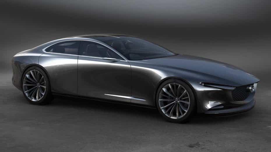 Mazda Vision Coupe Concept: Futurista, elegante, minimalista… pero sin motor rotativo