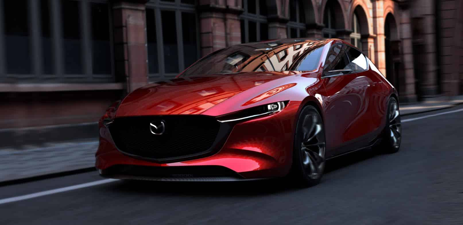 Se llama KAI CONCEPT y es el anticipo del próximo Mazda3: ¿No es espectacular?