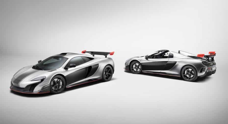 McLaren MSO R Coupé y Spider: Comprados por la misma persona y personalizados de la misma forma