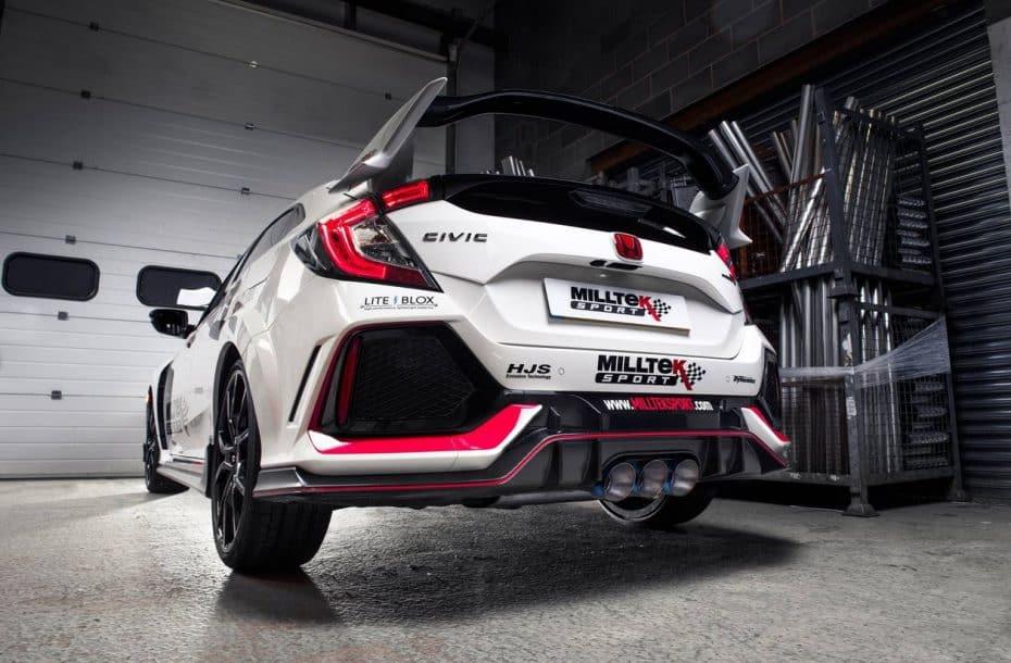 Milltek Sport nos habla de sus nuevos escapes para el Honda Civic Type R pero nos sabe a poco