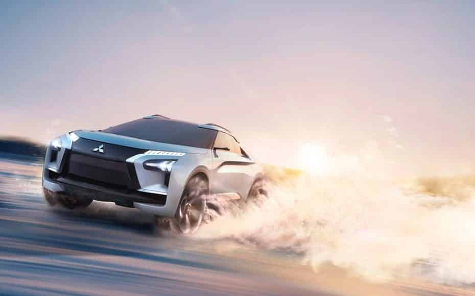 Mitsubishi e-Evolution Concept: El tecnológico futuro de los SUV de la firma nipona