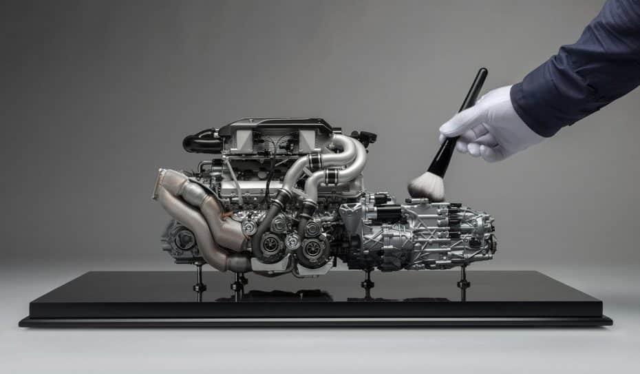 ¿Te gusta el motor W16 de 8.0 litros y 1.500 CV del Bugatti Chrion? Puedes hacerte con este por 8.800€