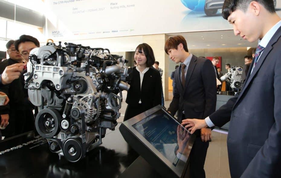 Los futuros motores de Hyundai y Kia: Distribuciónde Válvulas Variable Continua y una eficiencia térmica mejorada hasta en un 50%