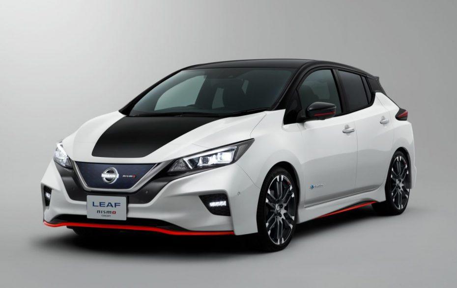 Nissan LEAF NISMO Concept: ¿Y ahora quién es el patito feo?