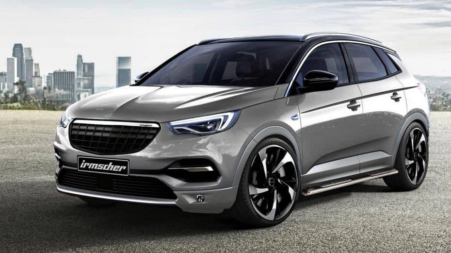 Irmscher le mete mano al Opel Grandland X y el resultado nos gusta