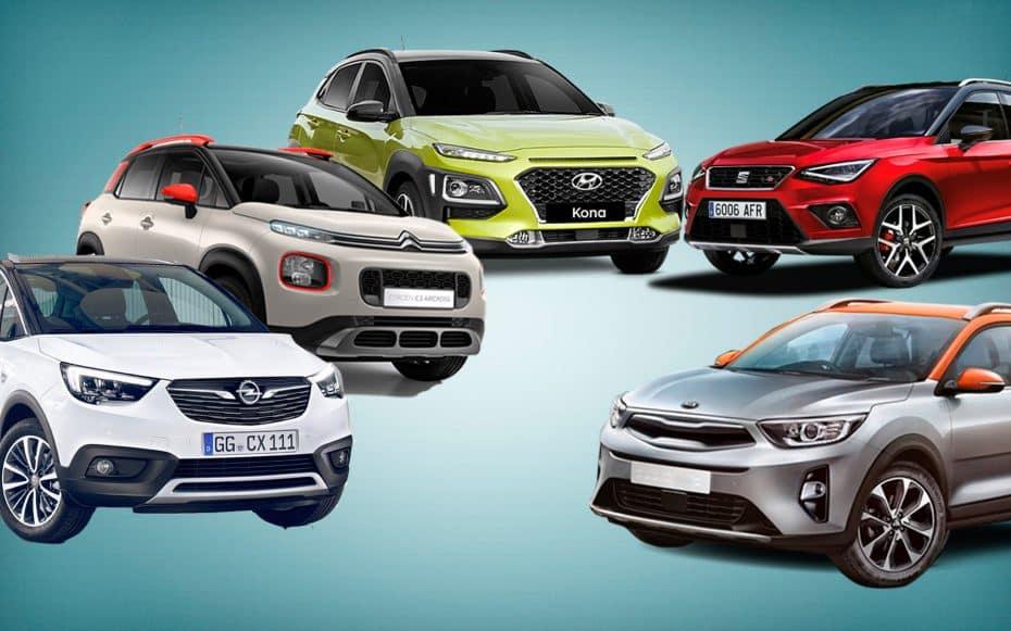 ¿Cuál es el nuevo B-SUV más interesante?: Kia Stonic, Citroën C3 Aircross, Hyundai Kona, Opel Crossland X o SEAT Arona