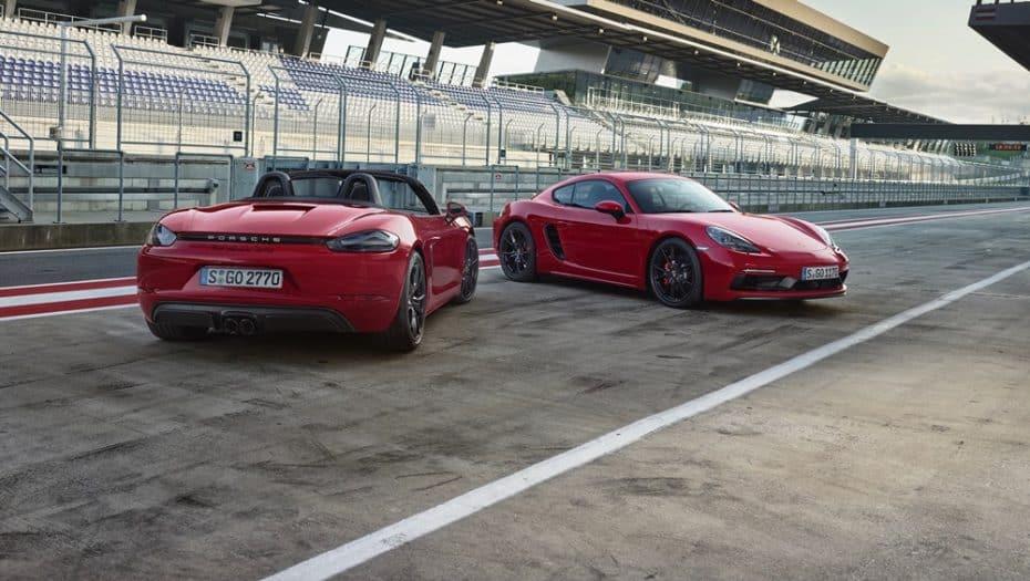 Más potencia y deportividad para los Porsche 718 Cayman y Boxter: Llega la variante GTS