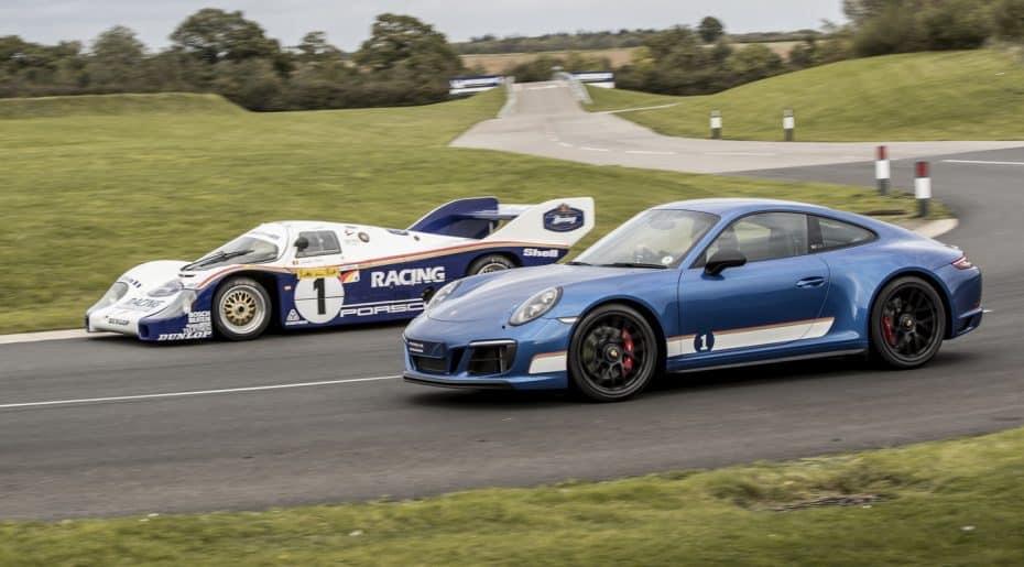 Porsche 911 Carrera 4 GTS 'British Legends Edition': Todo un tributo a los grandes de Le Mans