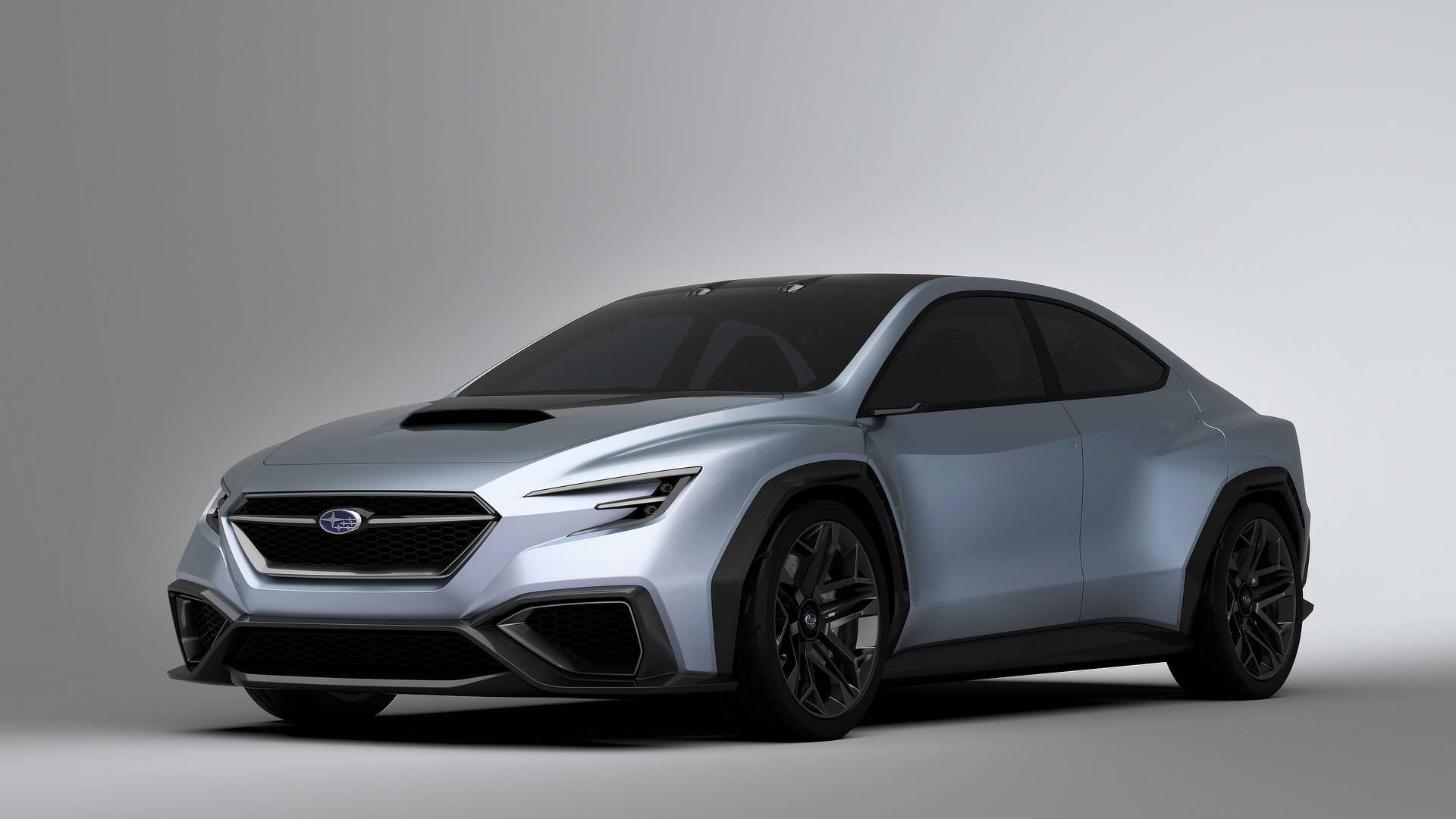 El Subaru WRX STI 2022 se inspirará en el Viziv de 2017