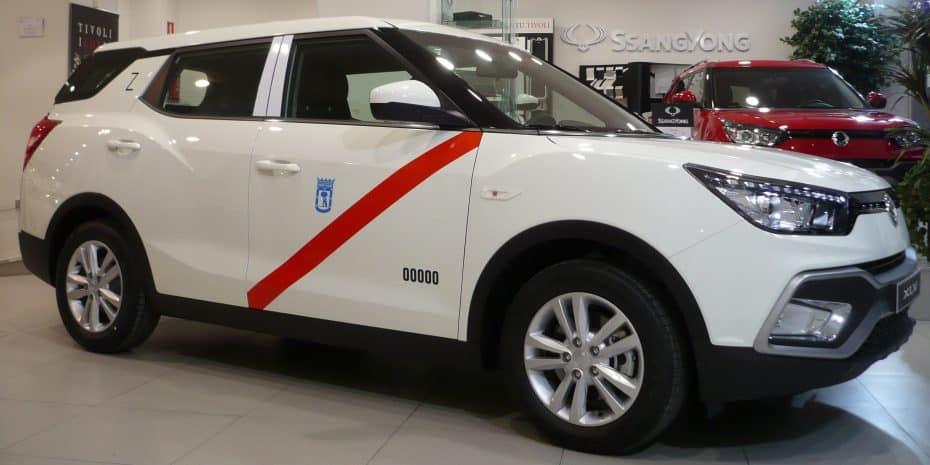 El SsangYong XLV a GLP, ahora homologado para Taxi en Madrid