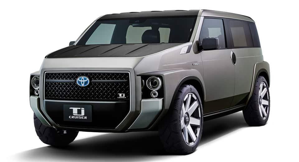 Así es el TJ Cruiser Concept de Toyota: Para conductores que combinan ocio y trabajo