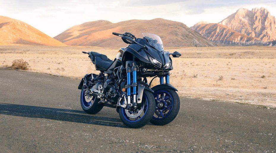Yamaha Niken: Así es la nueva apuesta de la firma nipona con tres ruedas y un aspecto feroz