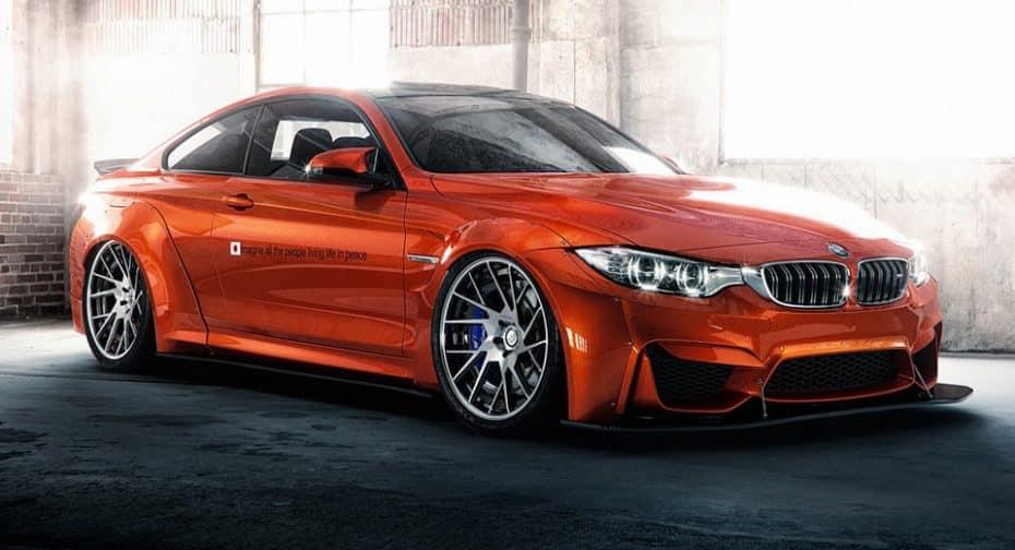 Liberty Walk ha transformado este BMW M4 para acaparar tu atención, y lleva un mensaje muy especial…