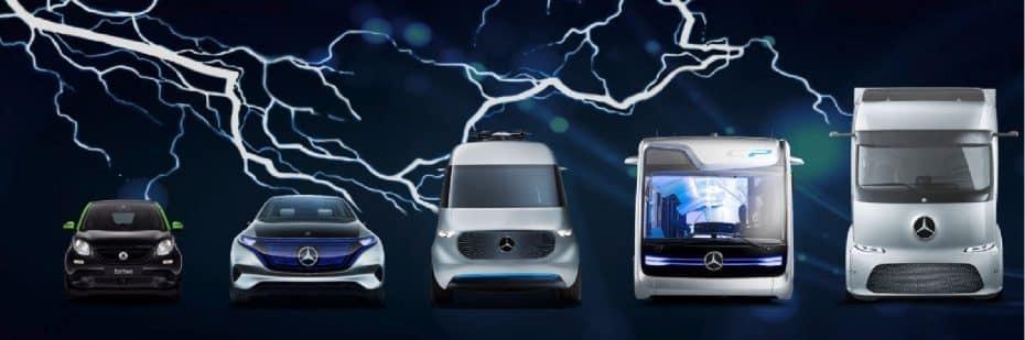 En menos de 5 años, Mercedes-Benz tendrá más de 10 modelos eléctricos diferentes