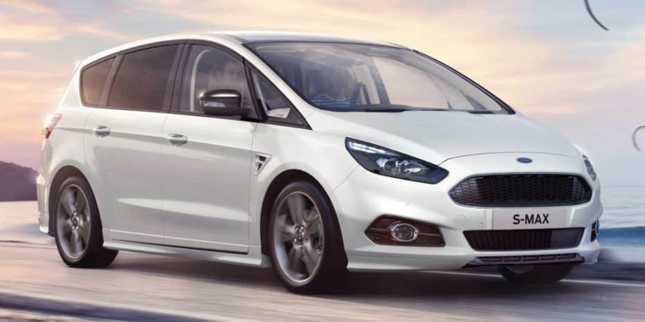 Nueva gama Ford S-Max: Estrena acabado ST-Line y desaparecen los básicos