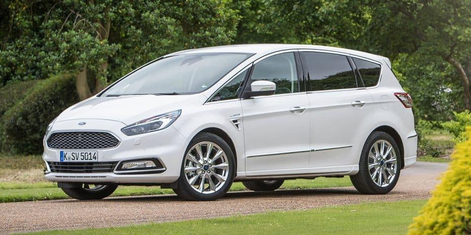 Nueva gama Ford S-Max: Solo disponible en diésel