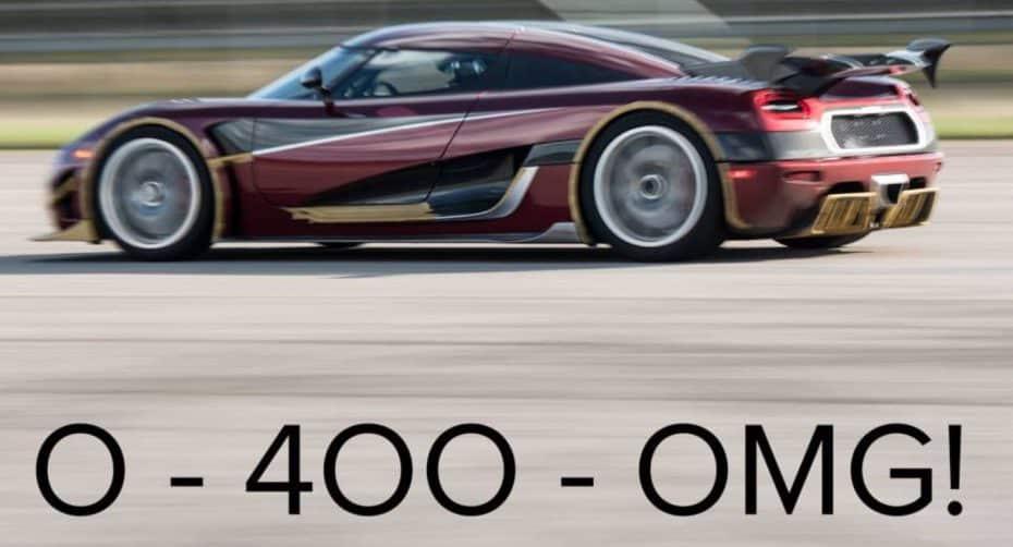 """Koenigsegg prepara un """"zasca"""" brutal para destronar al Bugatti Chiron: ¿Un nuevo récord de 0 a 400 km/h?"""