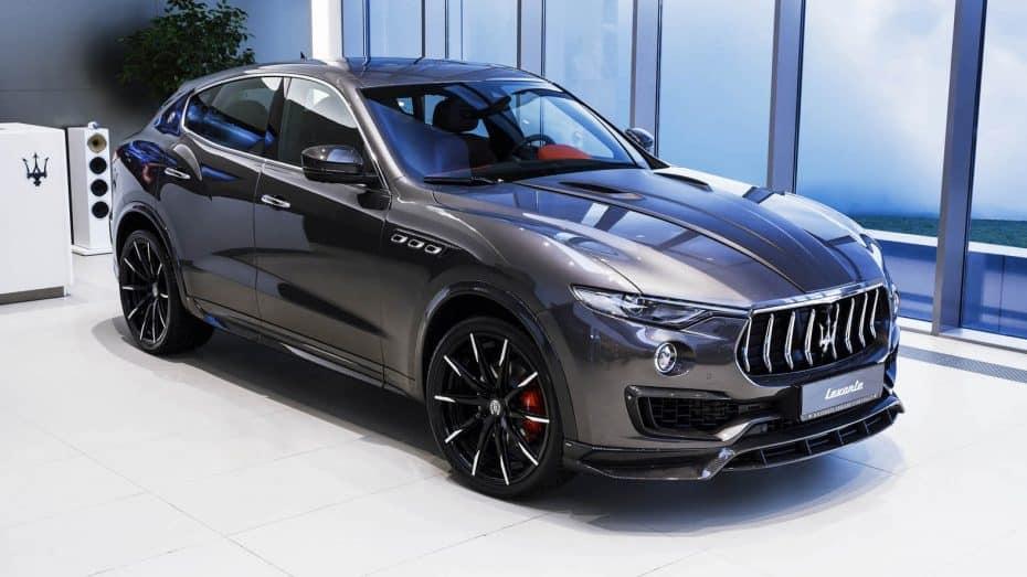 Larte Design ha creado un Maserati Levante con 'esteroides', y el resultado es digno de ver