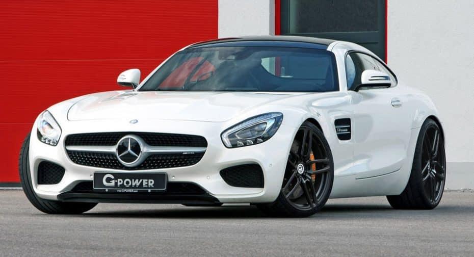 Mercedes-AMG GT S de G-POWER : 610 CV de potencia para plantarle cara al 'Green Hell'