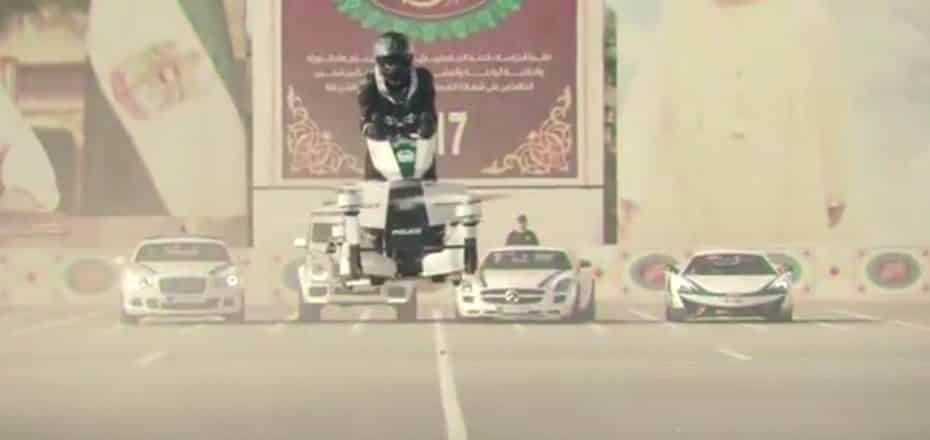 Este es el nuevo «juguete» de la policía de Dubai: ¿Lo mejor hasta la fecha?