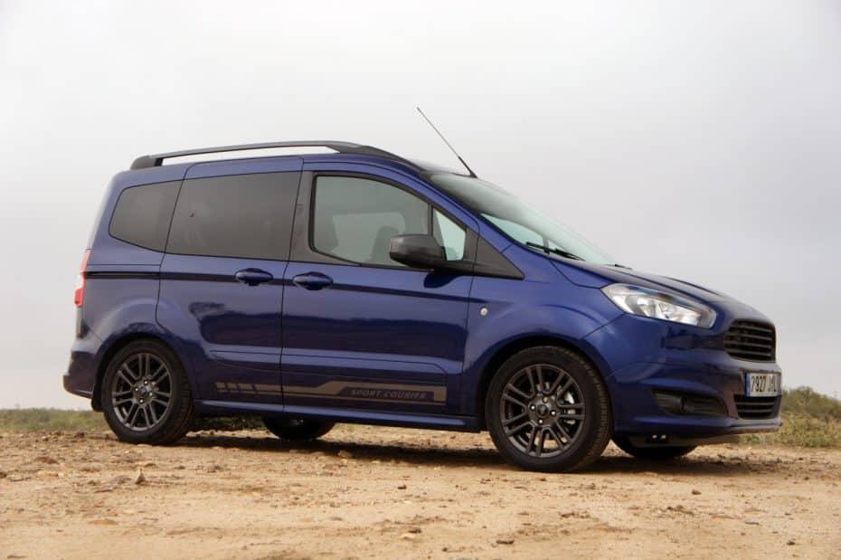 Prueba Ford Tourneo Courier 1.0 Ecoboost 100 CV Sport: Mucho coche por muy poco