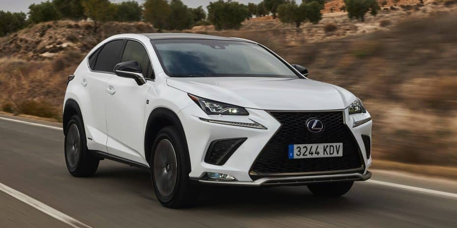 El Lexus NX 2018 aterriza en el mercado español