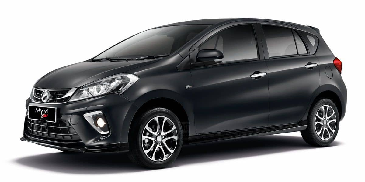 Así es la nueva generación del Perodua Myvi, el súper-ventas de Malasia