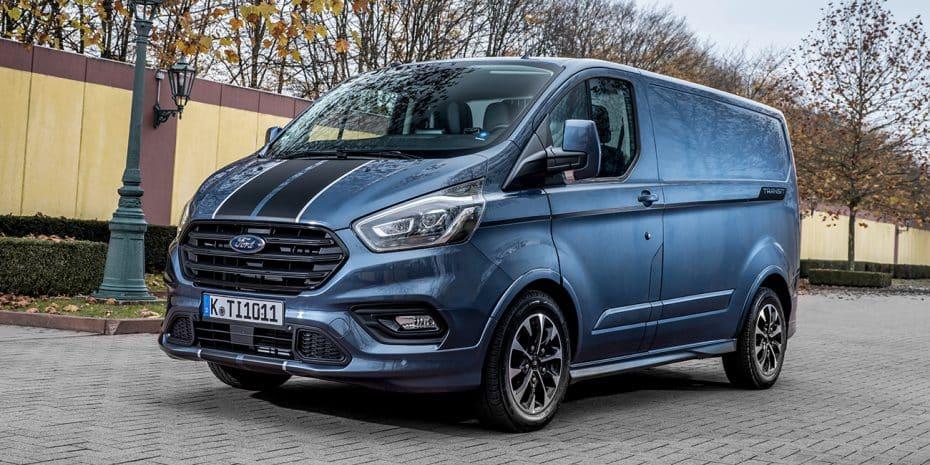 Los renovados Ford Transit/Tourneo Custom llegarán en diciembre