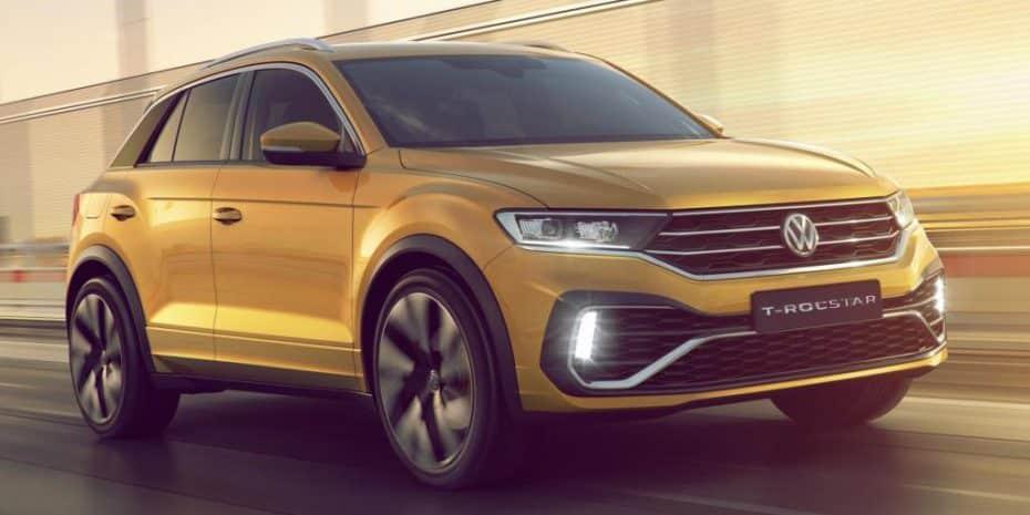 El Volkswagen T-Rocstar Concept podría adelantar un T-Roc más dinámico