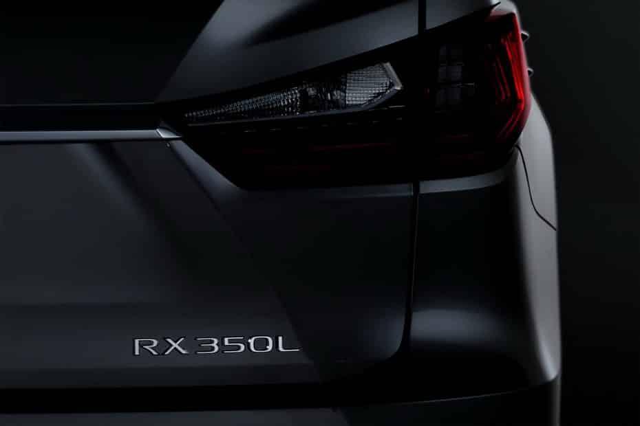 Lexus presentará en Los Ángeles el nuevo RX-L: Con siete plazas