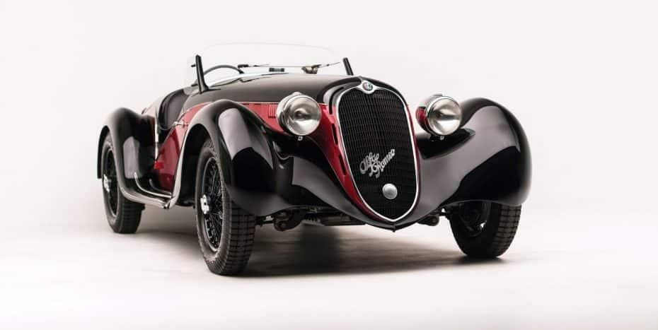 El Alfa Romeo 6C 2500 SS Spider de 1942 es belleza en estado puro, y ahora puede ser tuyo…