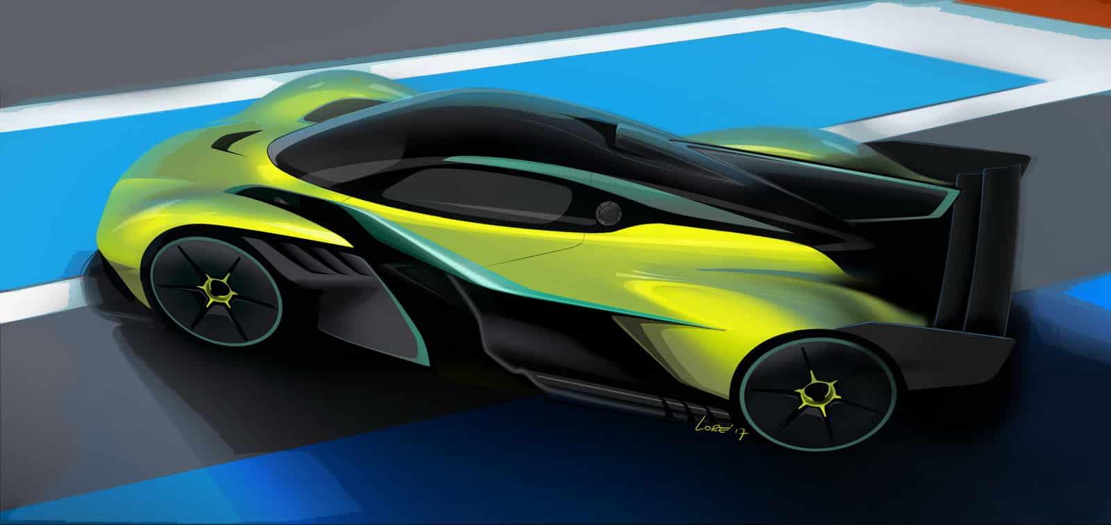 Así es el Aston Martin Valkyrie AMR Pro: ¡Una versión más radical nacida por y para el circuito!