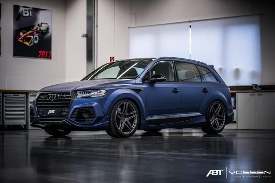 Audi Q7 y SQ7 Limited Edition: Solo ABT y Vossen podrían llevar a este mastodonte hasta el límite