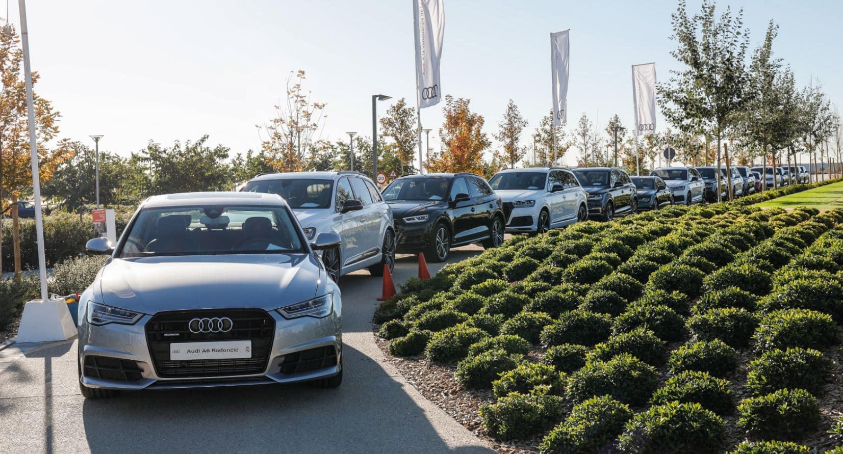 ¡Audi para todos!: Los jugadores del Real Madrid Baloncesto reciben sus nuevos coches…